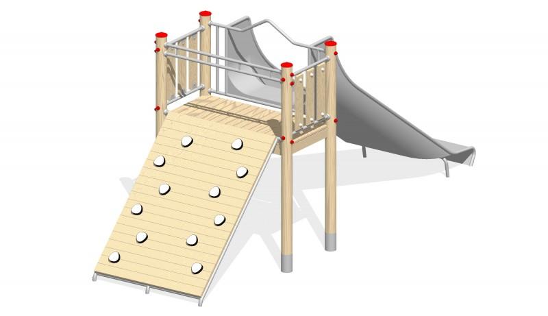 Urządzenia zabawowe Na Plac Zabaw Producent Zjeżdżalnia 7